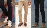 เทคนิคง่าย ๆ จับคู่สีที่ใช่ ให้รองเท้าแมทช์กับกางเกง