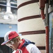 DC Rai Water-Resistant Hooded Track Top