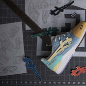 ASICS x atmos x Sean Wotherspoon