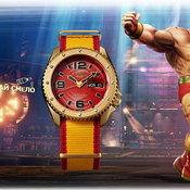Seiko 5 Sports x Street Fighter