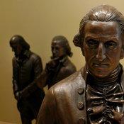 รูปปั้นจอร์จ วอชิงตัน ผู้ก่อตั้งประเทศสหรัฐอเมริกา