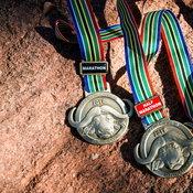 เหรียญรางวัลจากงาน Big Five Marathon