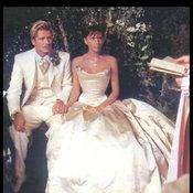 เดวิด และ วิคตอเรีย เบ็คแฮม ภาพในงานแต่งงาน