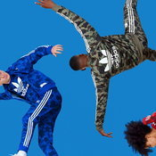 "BAPE X adidas Originals ""Camouflage adicolor"""