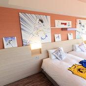 ห้องพักในธีมกัปตันซึบาสะ