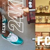 24 Kilates X Reebok CL Nylon 'F.C.V.K II - Futbolín Pack'