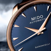 Mido Baroncelli Midnight Blue