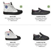 Vans Space Voyager x NASA Collection 2018