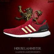 รองเท้าสีแดงทองจากตระกูล Lannister