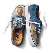 ภาพพอร์เทรตแวน โก๊ะ บนรองเท้า