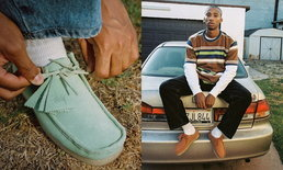 Stüssy x Clarks Originals ปล่อยรองเท้า Wallabee สุดคลาสสิคออกมาให้ได้ยลโฉม