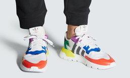 มาในโทนสีสดใส adidas Nite Jogger รุ่นเฉลิมฉลอง Pride Month