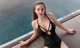 เปิดความเซ็กซี่ เกลิน ธัญรดี นางแบบสาวเจ้าเสน่ห์คู่กรณี กัสจัง จีร่าร์