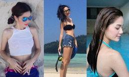 ไม่ใช่แค่สวยแต่เซ็กซี่ด้วย กวาง The Face Thailand 2 กับภาพชุดบิกินี่