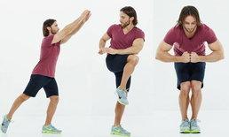 """6 ท่าออกกำลังกาย เบิร์นไขมันได้ทั้งตัวโดยใช้เวลา """"นิด"""" เดียว!!"""