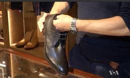 """""""รองเท้าสายลับ"""" ไอเดียของขวัญสุดเก๋สำหรับแฟน 'เจมส์ บอนด์'"""