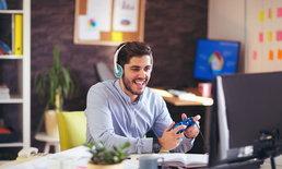 เล่นเกมในที่ทำงานแค่ 5 นาที ก็ลดความเครียดได้