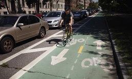 """การมีอยู่ของ """"ทางจักรยาน"""" ลดการเสียชีวิตได้ถึงปีละหมื่นคน"""