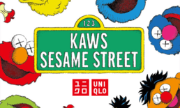 "Uniqlo ปล่อยคอลเลคชั่นเสื้อยืด ""Kaws x Sesame Street UT"""