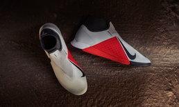 """ฉีกกรอบการออกแบบรองเท้าฟุตบอล """"PHANTOMVSN"""" จากไนกี้"""