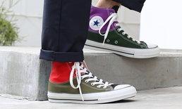 JAM Homemade และ Converse ร่วมกันออกรองเท้าสีสันสดใส