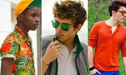 Street Fashion : แต่งตัวสีแจ่มๆ