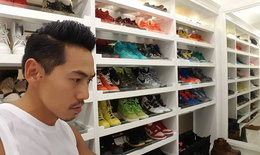 ชมของสะสม ดีเจเพชรจ้า รองเท้า Nike Dunks