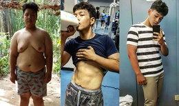 หนุ่มอ้วนเปลี่ยนตัวเอง จากน้ำหนัก 133 เหลือ 69 กก.