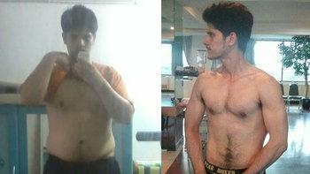 ผมทำได้แล้วจาก 130 kg. สู่ 85 kg. มาดูความเปลี่ยนแปลงกัน