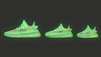 adidas เปิดตัว YEEZY BOOST 350 V2 Glow In The Dark สนีกเกอร์เรืองแสง