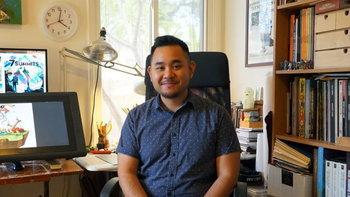 วาดเล่นจนเป็นอาชีพ เส้นทางนักวาดภาพประกอบบอร์ดเกมในอเมริกาของ ขวัญชัย โมริยะ