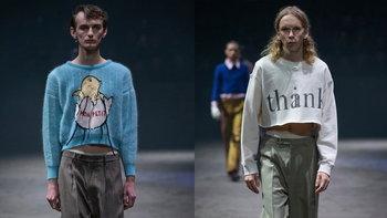 ผู้ชายก็อ่อนโยนได้ Gucci Fall/Winter 2020 กับคอลเลคชั่นเสื้อเอวลอยผู้ชาย