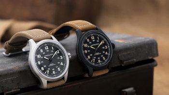 Hamilton Khaki Field Titanium นาฬิกาวินเทจร่วมสมัยสไตล์ทหารยุค Great war