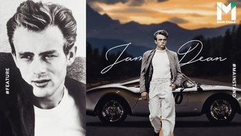 """ชีวิตที่หลงรักความเร็วจนวินาทีสุดท้ายของ """"เจมส์ ดีน"""""""