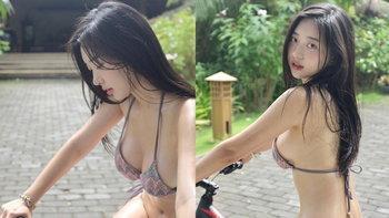"""นางแบบเจ้าเสน่ห์ """"Shin Jae Eun"""" อวดความเซ็กซี่ฉลอง 2 ล้านฟอลโลเวอร์"""