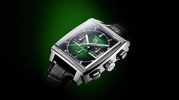 TAG Heuer เปิดตัว TAG Heuer Monaco Green Dial เฉดสีเขียวใหม่สง่างาม