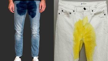 """""""กางเกงยีนส์เป้าเปียก"""" เท่ได้ไม่ซ้ำใคร ให้อารมณ์เหมือนกลั้นปัสสาวะไม่อยู่"""