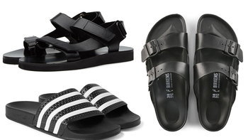 แนะนำ 10 รองเท้าแตะสวมใส่สบายสำหรับผู้ชาย