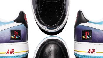 """Nike เอาใจคอเกม เตรียมส่ง Air Force 1s คอลเลคชันพิเศษ """"PlayStation"""" ต้อนรับงาน E3"""