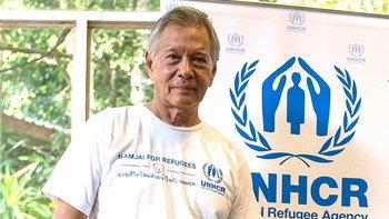 """ครั้งแรกของ """"หนิง นิรุตติ์"""" กับทอล์คโชว์ในมุมนักมนุษยธรรม ระดมทุนช่วยเหลือผู้ลี้ภัยทั่วโลก"""