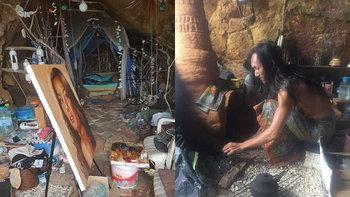 ชีวิตนอกกรอบ The Cave Man 2018 ผู้ชายที่ใช้ชีวิตอยู่ในถ้ำ