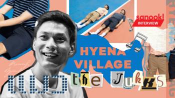 """""""แมว The Jukks"""" ชายผู้หลงใหลในเสียงดนตรี และชีวิตที่ดิ้นรนสู่แบรนด์กางเกงขาสั้น """"Hyena Village"""""""
