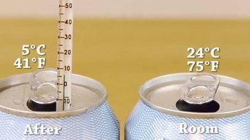วิธีทำเครื่องดื่มให้เย็นใน2นาที แบบไม่ง้อตู้เย็น