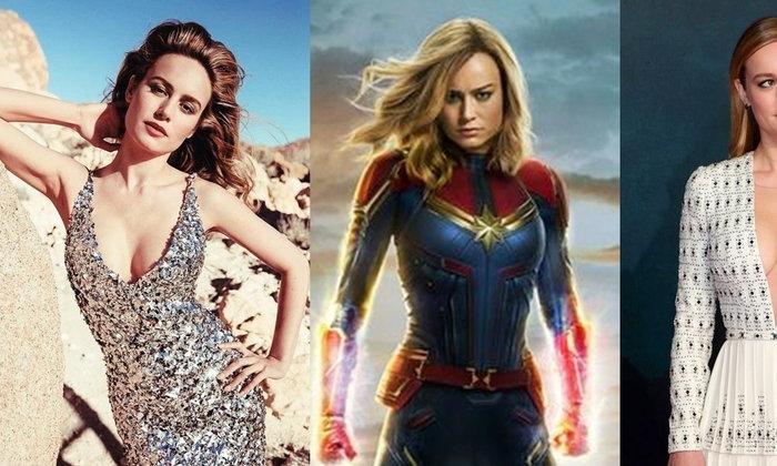 ส่องกัปตันมาร์เวล   Brie Larson   ในลุคสุดแซ่บ สวยเท่ไม่แพ้ในหนัง