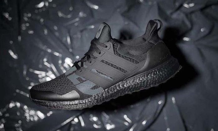 Adidas UltraBoost x UNDEFEATED เผยโฉมสีใหม่ Triple Black