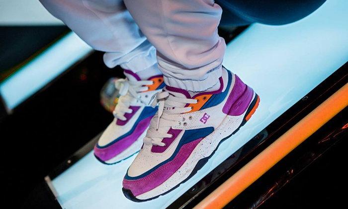 สีสวยมาก DC E.Tribeka LE Leather Shoes หนึ่งในคอลเลคชั่น Zero Hour
