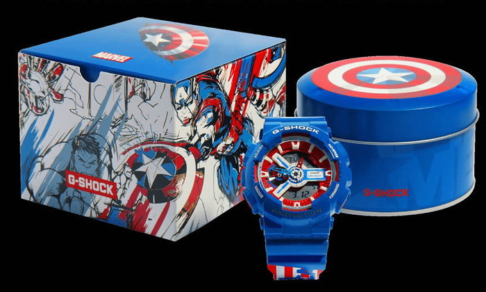 อินเทรนด์กับ Casio G-Shock x Marvel Avengers Collection