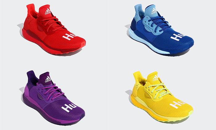 สีสันสดใสเอาใจหนุ่มๆ กับคอลเลคชั่น Pharrell X Adidas Solar HU