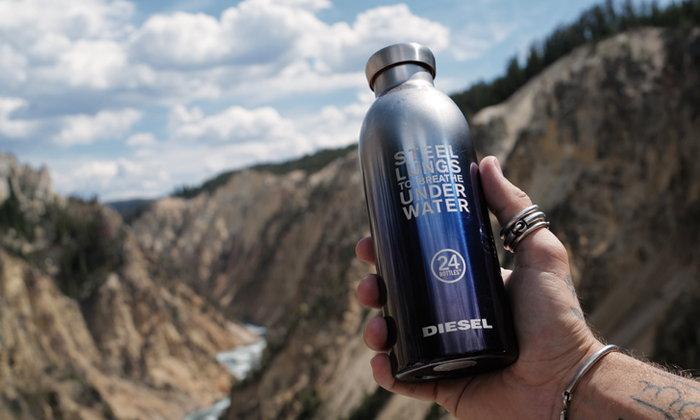 Diesel ร่วมกับ 24Bottles เปิดตัวกระบอกน้ำรุ่น Clima Bottle ส่งเสริมแนวคิดรักษ์โลก