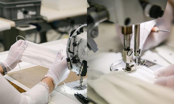 Louis Vuitton ระดมช่างฝีมือเวิร์กชอปเย็บหน้ากากต่อสู้โควิด-19